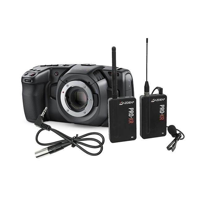 Blackmagic Pocket Cinema Camera 4K & Azden PRO XR Kit