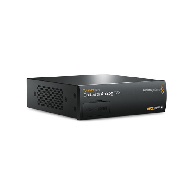 Blackmagic Teranex Mini - Optical to Analog 12G (Does not include SFP Optical Module)