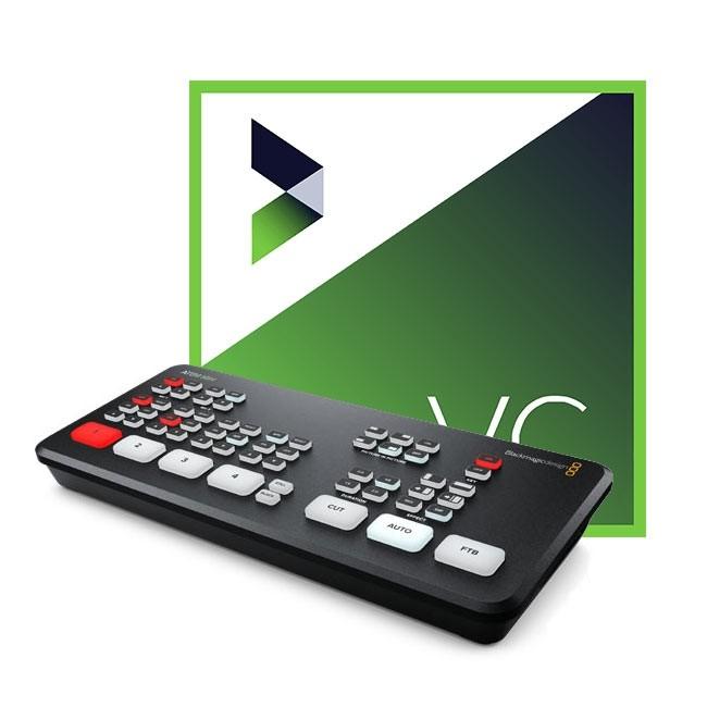 Blackmagic Design ATEM Mini & NewBlue VividCast ESD (Perpetual License) Bundle
