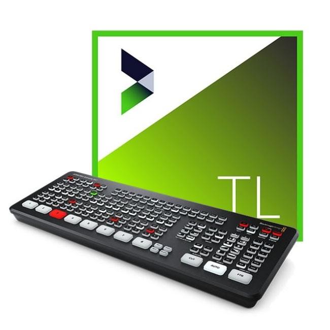 Blackmagic Design ATEM Mini Extreme ISO & NewBlue Titler Live 4 Present ESD Bundle