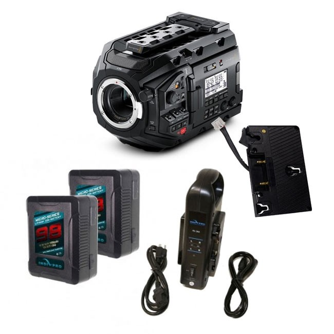 Blackmagic URSA Mini Pro Gold Mount Bundle