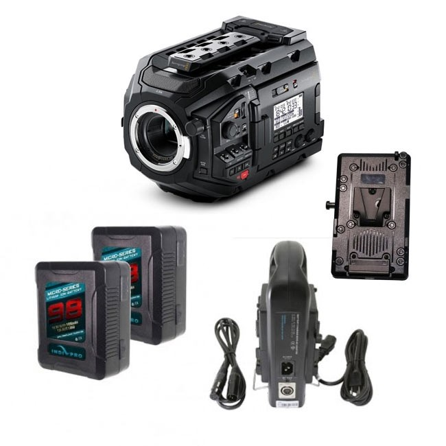 Blackmagic URSA Mini Pro V-Mount Bundle