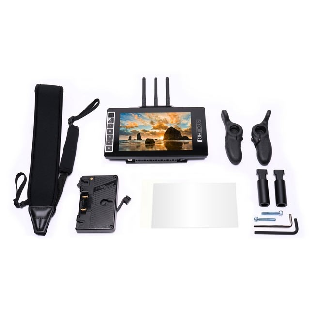 SmallHD 703 Bolt Wireless Monitor Gold Mount Director's Bundle