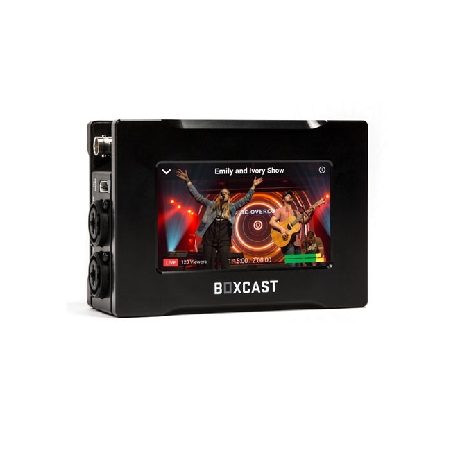 BoxCast BoxCaster Pro with 1 Year of Live Streaming