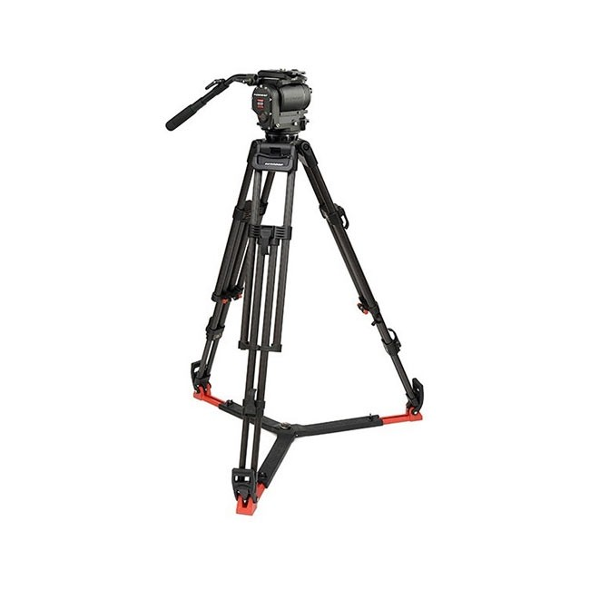 OConnor 1030D Head & 30L Tripod with Floor Spreader & Case