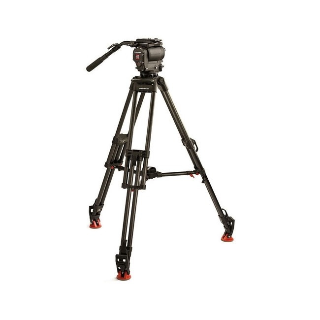 OConnor 1030D Head & 30L Tripod with Mid Level Spreader & Case