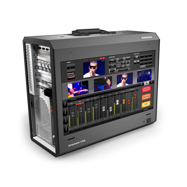Streamstar CASE 500 - All-In-One, 4 Camera, Portable Live Production and Streaming Studio