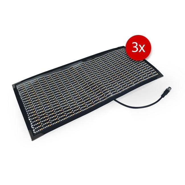 Cineroid RGBW CFL800 Flexible LED Light (Set of 3, V-Mount)