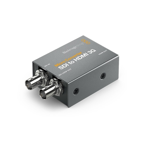 Blackmagic Design Micro Converter - SDI to HDMI 3G with Power Supply