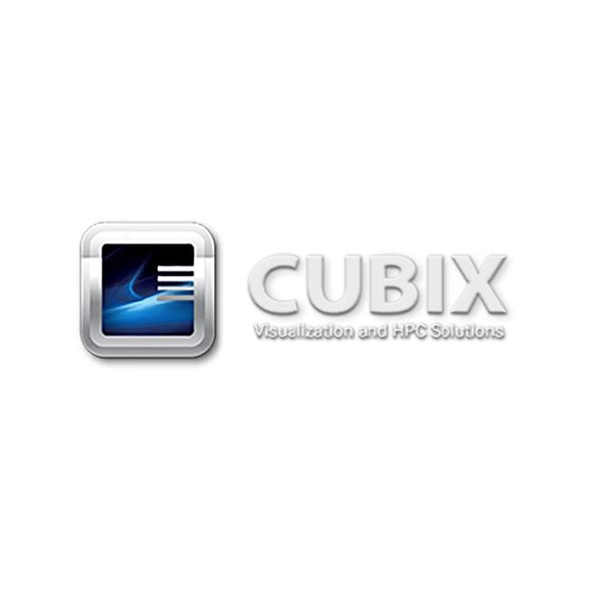 Cubix Host Engine 2U 19'' Rack Workstation