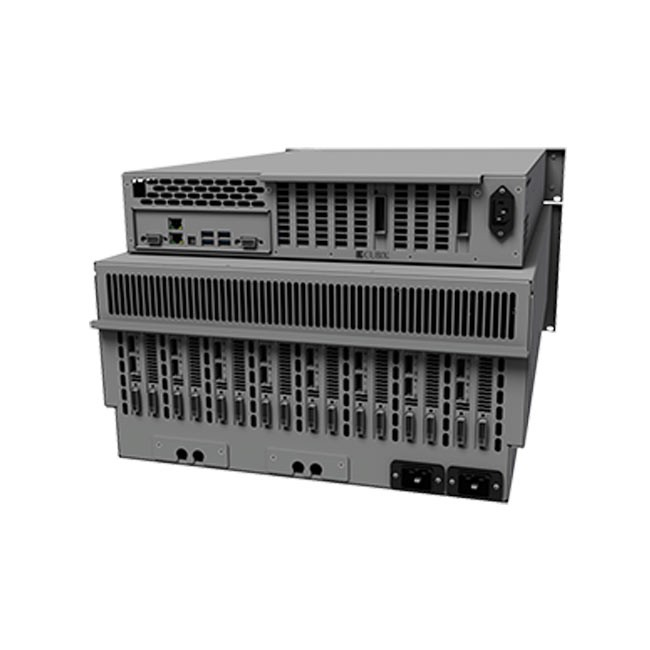 Cubix RPS Linux3U Rackmount 8 6U Base Model (Redundant Power Supplies, both HE & Xpander)