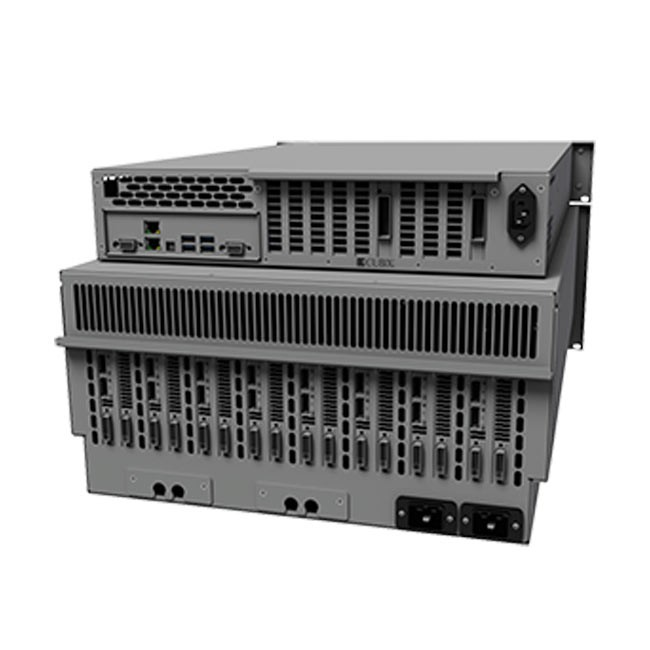 Cubix RPS Resolve 12 Linux4U Base Model (Redundant Power Supplies)