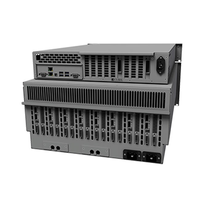 Cubix RPS Win3U Rackmount 8 5U Base Model (Redundant Power Supplies, both HE & Xpander)