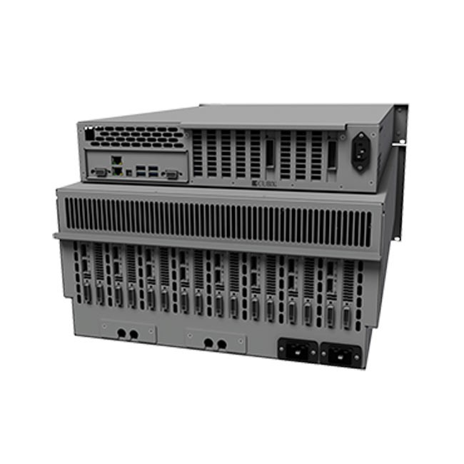 Cubix RPS Win3U Rackmount 8 6U Base Model (Redundant Power Supplies, both HE & Xpander)