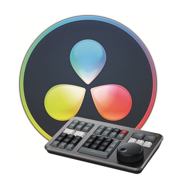 Blackmagic Design DaVinci Resolve Studio (License Key Only) with FREE DaVinci Resolve Speed Editor