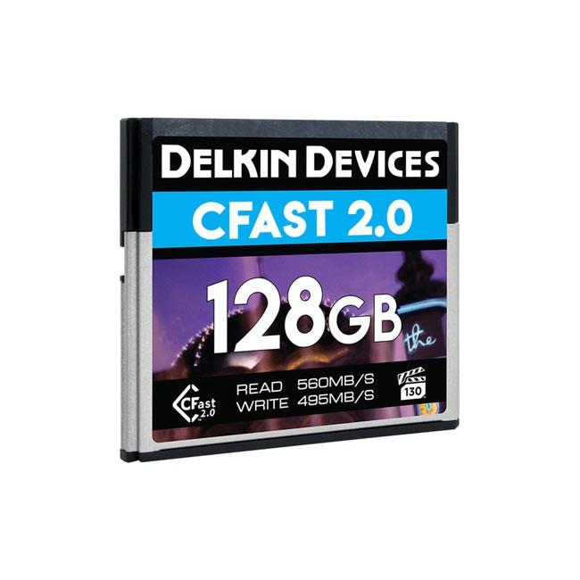 Delkin Devices CFast 2.0 Memory Card (VPG-130, 128GB)