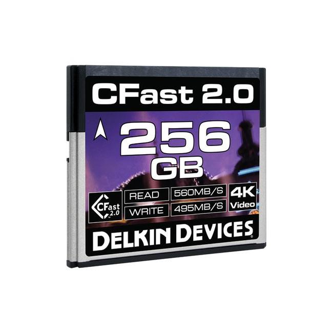 Delkin Devices CFast 2.0 Memory Card (256GB)
