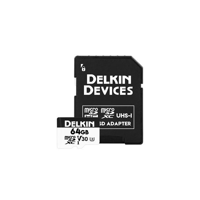 Delkin Devices 64GB HyperSpeed microSDXC V30