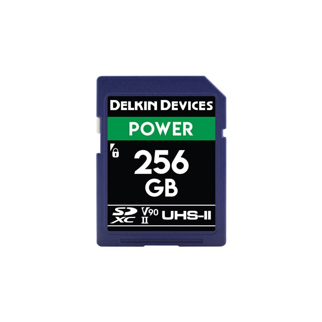 Delkin Devices Power UHS-II (U3/V90) SD Memory Card (256GB)