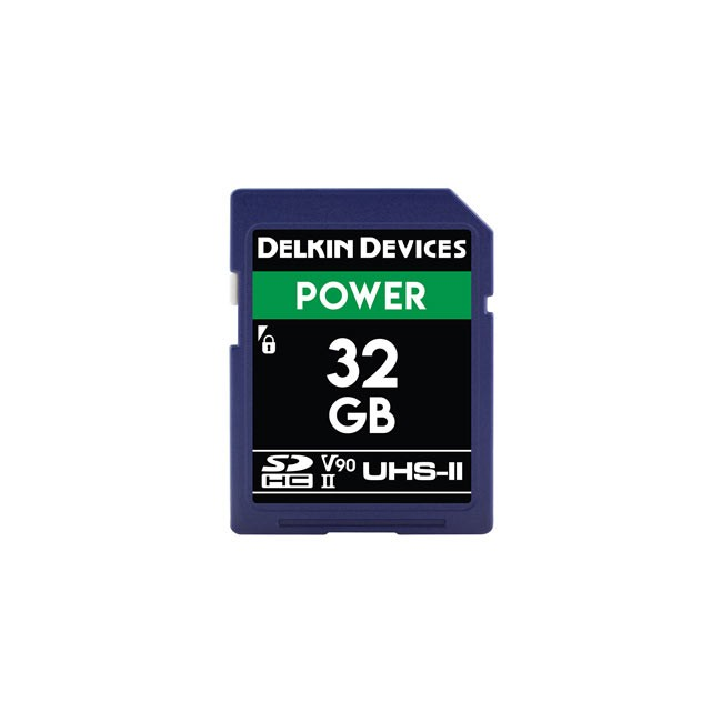 Delkin Devices Power UHS-II (U3/V90) SD Memory Card (32GB)