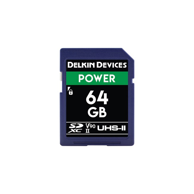 Delkin Devices Power UHS-II (U3/V90) SD Memory Card (64GB)