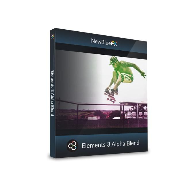 NewBlue Elements 3 Alpha Blend ESD