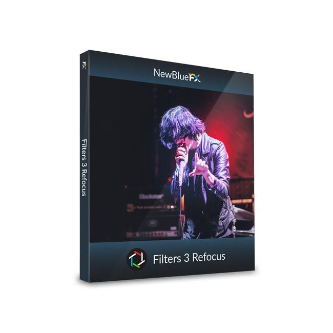 NewBlue Filters 5 Refocus ESD