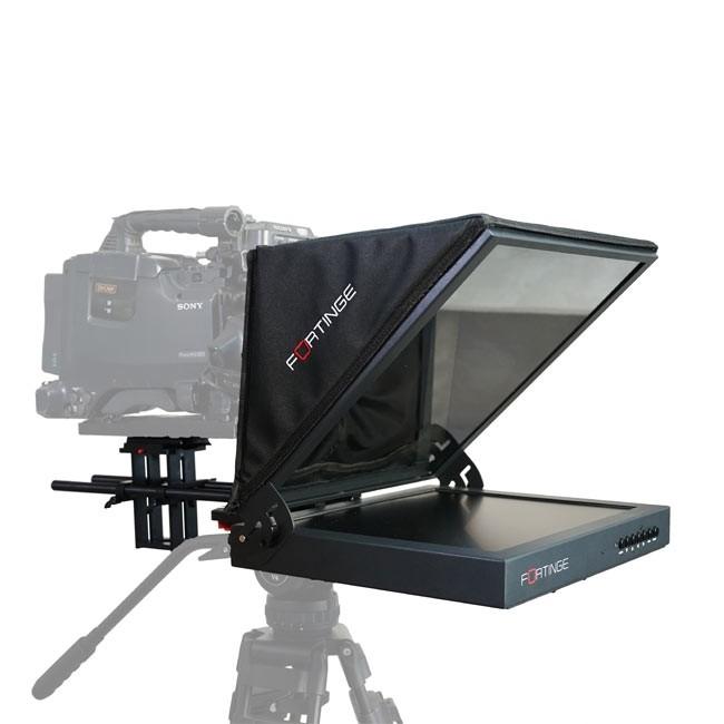 Fortinge 19'' Studio Prompter Set with HDMI, VGA, BNC, SDI Input