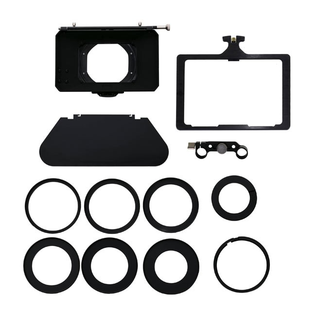 Genustech Production Matte Box Kit (GPMB,GPTF,GAR82,G-COAR-114,G-SUR/82KIT) & FREE Swing Away Bracket