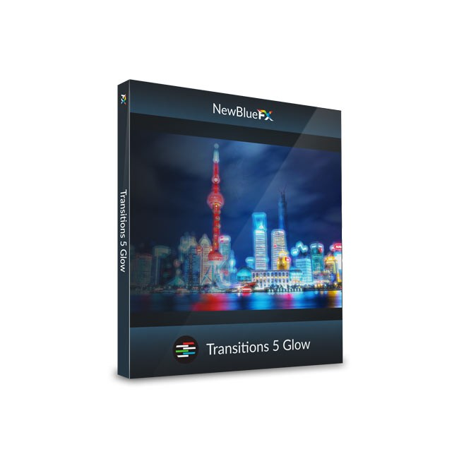 NewBlue Transitions 5 Glow ESD