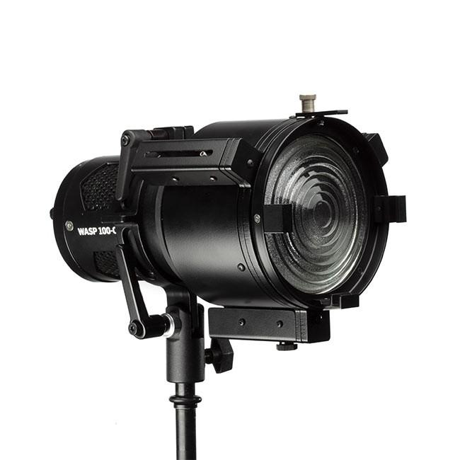 Wasp 100-C Adjustable Fresnel LED Light