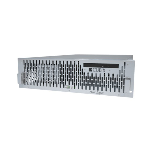 Cubix Host Engine 3U RP 19'' Rack Workstation