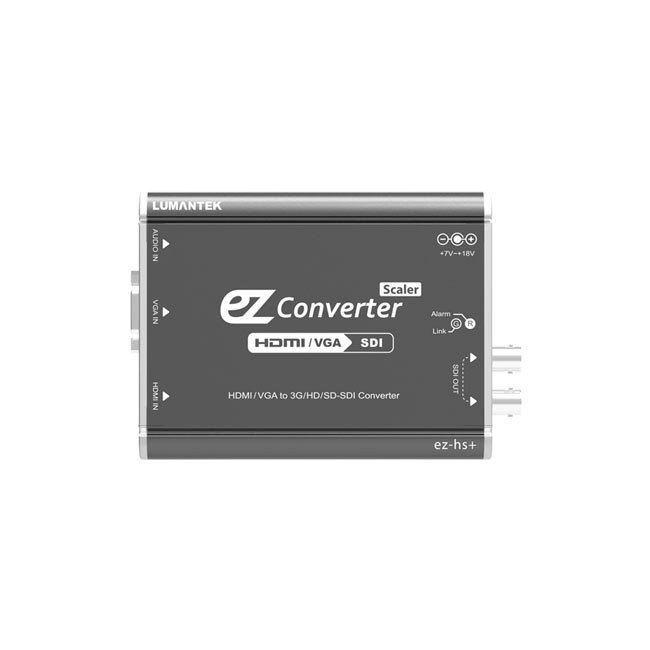 Lumantek HDMI/VGA to 3G/HD/SD-SDI Converter with Scaler