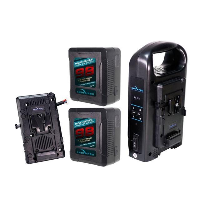 IndiPRO Tools Dual 98Wh Micro-Series Blackmagic URSA Kit
