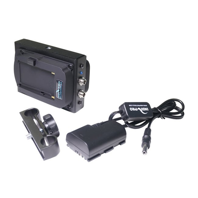 IndiPRO Tools Dual Sony L-Series Power System to Canon LP-E6 Dummy Battery