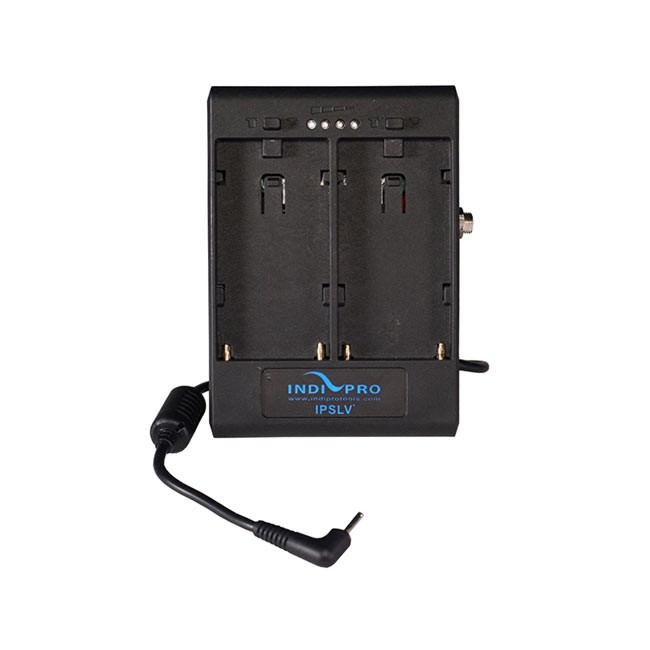 IndiPRO Tools Dual Sony L-Series Power Adapter to Blackmagic Pocket Camera with 1/4-20 Insert