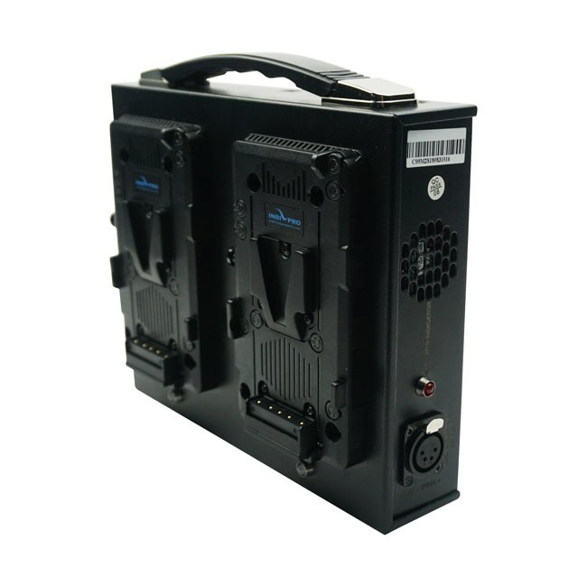 IndiPRO Tools Dual Fusion V-Mount Battery Charger
