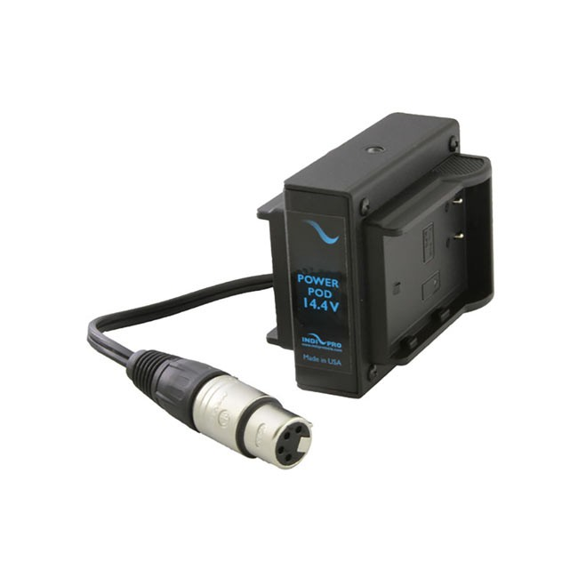 IndiPRO Tools Dual DMW-BLF19 Power System with 4-Pin Neutrik XLR Connector