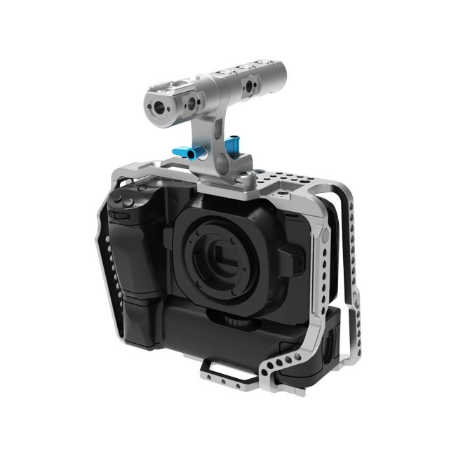 Kondor Blue BMPCC4K/6K Battery Grip Cage with Top Handle