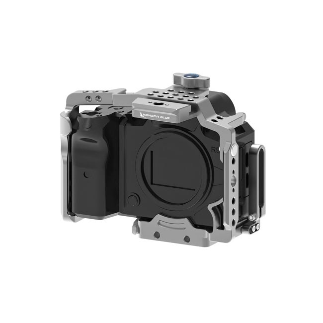 Kondor Blue Canon R5/R6 Battery Grip Cage (Without Top Handle)