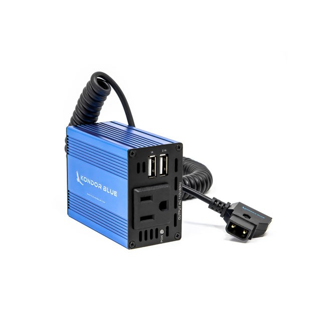Kondor Blue SPARK 150 D-TAP to AC Power Supply Wall Plug