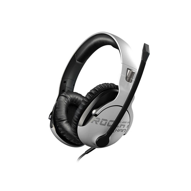 ROCCAT Khan Pro - Competitive High Resolution Gaming Headset (White)