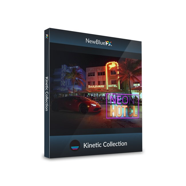 NewBlue Kinetic Collection ESD