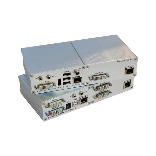 kvm-tec MVX2 Masterline Dual KVM Extender Set