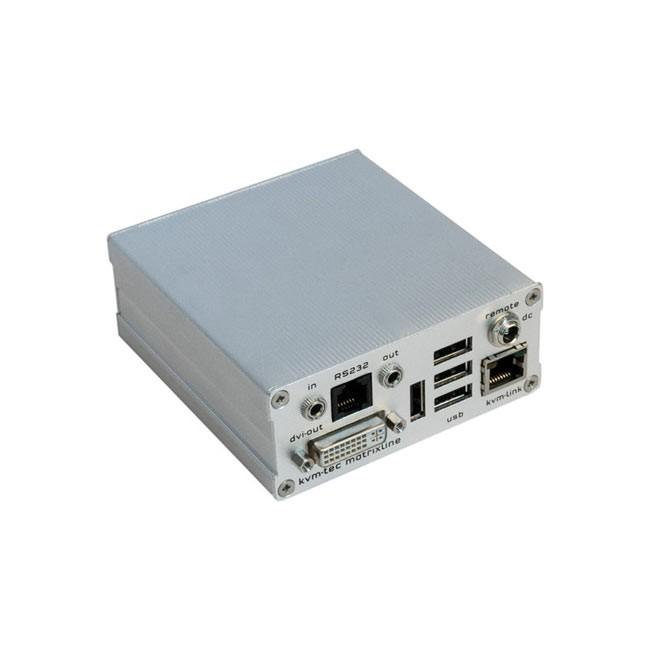 kvm-tec MX1R2000 Matrixline Single Extender (Remote Unit)