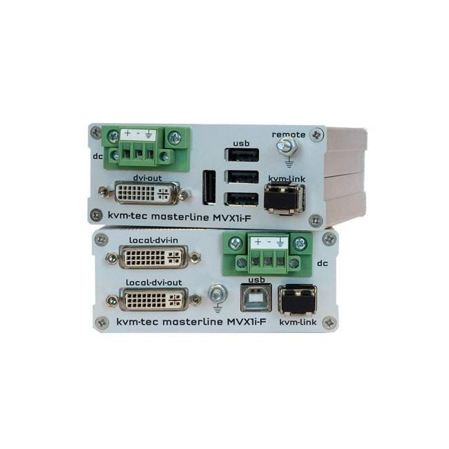 kvm-tec MVX1i-F Industryline Extender Single Fiber - SET