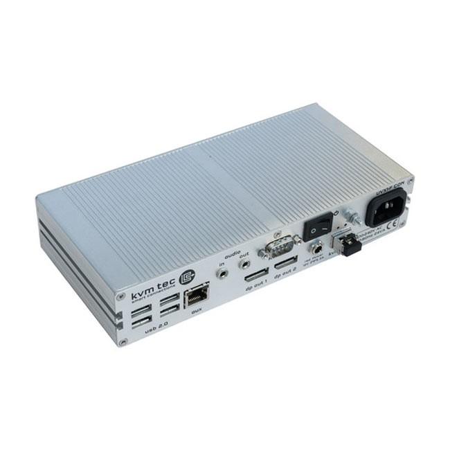 kvm-tec UVX1-FR Ultraline 4K Single Fiber Extender (Remote Unit)