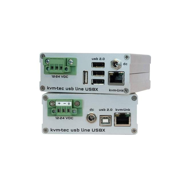 kvm-tec USBX-F USBline Extender Single Fiber - SET