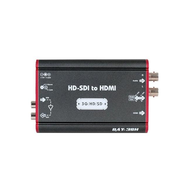 Lumantek Mini Converter BAT Series - SDI to HDMI