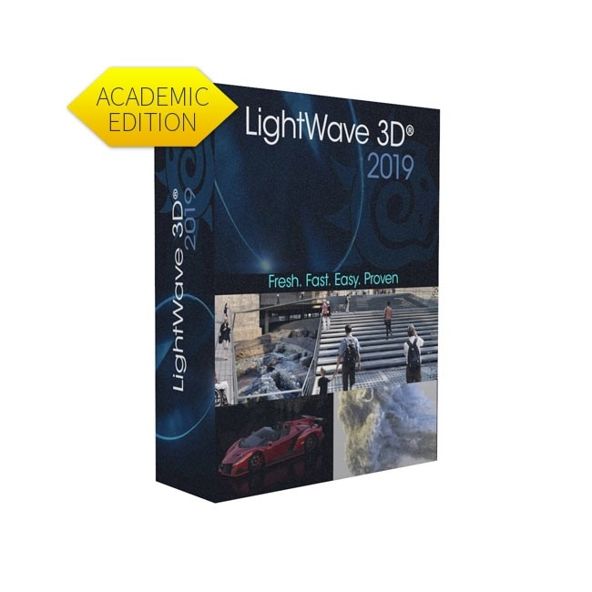 Lightwave 3D 2019 (Academic, Five Seat Pack) ESD